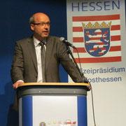 Polizeipräsident Roland Ullmann