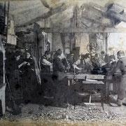 Atelier Monoury vers 1910