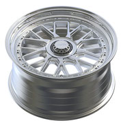 RAFFA WHEELS RS-03 ZV SILVER LIP POLISHED