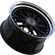RAFFA WHEELS RS-03 ZV BLACK LIP POLISHED