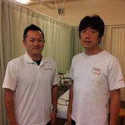 中野先生と私のツーショット