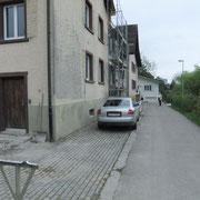 Fassade vorher D. Vogt Holzbau GmbH, 8855 Wangen SZ