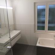 Badezimmer nachher D. Vogt Holzbau GmbH, 8855 Wangen SZ