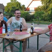 Besenwirtschaft auf dem Dorfplatz 2015