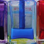 Five Colours 2017 || Óleo sobre tabla, 61 X 200 cm.