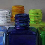 Colores VI 2014 || Óleo sobre tabla, 85X190 cm.