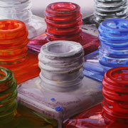 Colores VIII 2015 || Óleo sobre tabla, 85X190 cm.