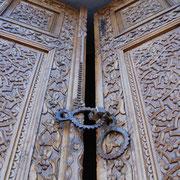 Samarkand, Gur Emir, Tür zur Grabstätte von Amir Timur