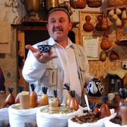 der Tee- und Gewürzhändler in Buchara