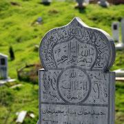 Friedhof hinter der Gräberstraße Schahi-Zinda, Samarkand