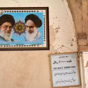 Allgegenwärtig: Khomeini und Chamenei