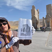 Persepolis, Palastanlage der Könige