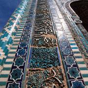 in der Gräberstraße Schahi-Zinda, Samarkand
