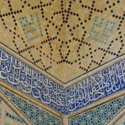 "Isfahan, in der Moschee ""Masdjed-e Djameh"""