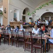 Yazd, Mittagessen im Hotel Kohan