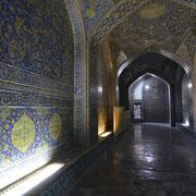 Isfahan, Seitentrakt der Lotfollah-Moschee