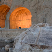 "Kermanshah, Felsenreliefs von ""Tagh-e-Bostan"""