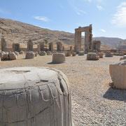 Persepolis, in der Palastanlage