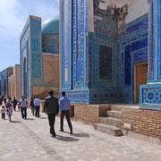 Mausoleen in der Gräberstraße Schahi-Zinda, Samarkand