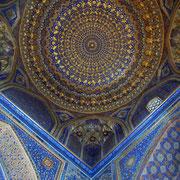 Samarkand, Registan, Tilla Qori-Moschee