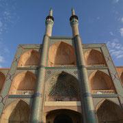 """Yazd, Portalbau der ehemaligen Moscheeanlage am """"Meydan-e Mir Chaqmag"""""""