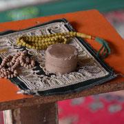 Gebets-Utensilien in einer Moschee