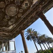 Shiraz, Gartenpavillon im Pomeranzengarten