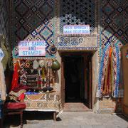 Souvenirladen in einer Medrese