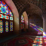 """Shiraz, Privat-Gebetssaal der Moschee """"Nasir-al-Molk"""""""