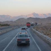 Unterwegs nach Yazd
