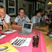 Fußball beim Italiener=)