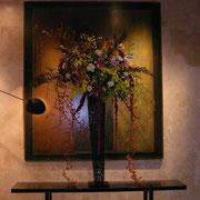 フランス大使館 大使官邸にて 祭事・イベントなどの花装飾や店舗の活け込みなど承ります