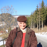 Peter beim Spaziergang