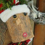 いよいよトナカイくんもクリスマス仕様に。
