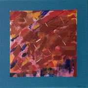 Abstrakt, 40x40 cm
