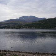 Vu du mont Ben Nevis