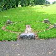"""Le """"Dooslan Stone"""" et les """"Tolbooth bases"""" de Brodie Park"""