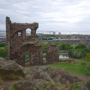 Ruine à édimbourg