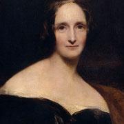 Portrait de Mary Shelley, créatrice du personnage de Frankenstein, qui a vécu près de Dundee