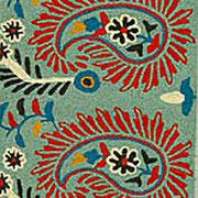 Motif de Paisley sur du textile