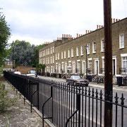 Rue de Londres. Style typiquement anglais