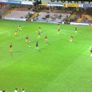 Motherwell FC à l'entraînement avant le match de coupe contre l'Hamilton Academical