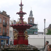 Fontaine du centre ville de Dumfries