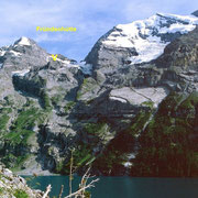 Lage der Fründenhütte zwischen Fründenhorn und Doldenhorn