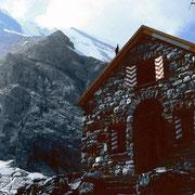 Fründenhütte, Galletgrat und Gipfelwand des Doldenhorns