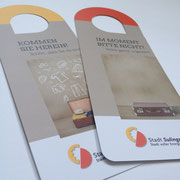 Türhänger für die Gasthäuser und Ferienwohnungen in  Sulingen