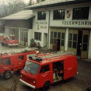 Feuerwehrübung Wohnanlage Hintertal 1993