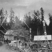 Feuerwehrübung 1906 beim Reitbauern