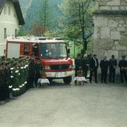 Fahrzeugweihe LF im Jahr 2000
