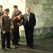 Fahrzeugweihe RLFA 2000 im Jahr 1994
